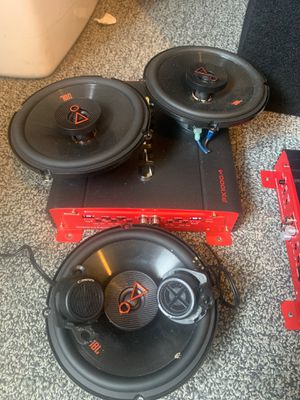 JBL speakers, crunch amps and DD audio for Sale in Santa Ana, CA