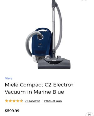 Brand New Miele compact c1 imported from italy 🇮🇹 thanks for Sale in Rockville, MD