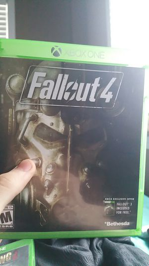Fallout 4, great condition, brand new for Sale in Knoxville, TN