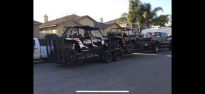 24' utility trailer Aztex flatbed for Sale in Norco, CA