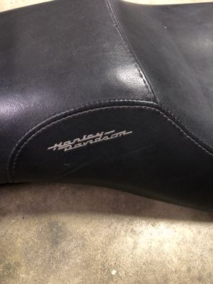 Harley Davidson motorcycle Leather Seat for Sale in Torrance, CA