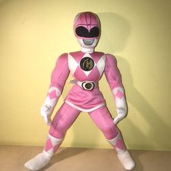 "Vintage 1994 Pink Ranger 17"" Plush Toy for Sale in Silver Spring,  MD"