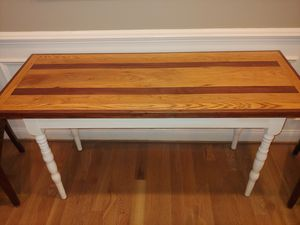 Refinished Foyer/Sofa Table for Sale in Raleigh, NC