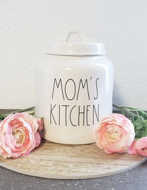 "Rae Dunn ""MOM'S KITCHEN"" Canister for Sale in Altadena, CA"