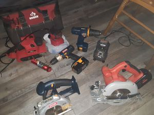 Miscellaneous tools and bag for Sale in Oklahoma City, OK