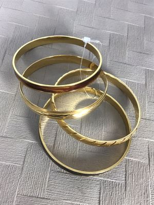 New set of 4 Monet Bangle Bracelets, Great Gift! 🎁 for Sale in Chesapeake, VA
