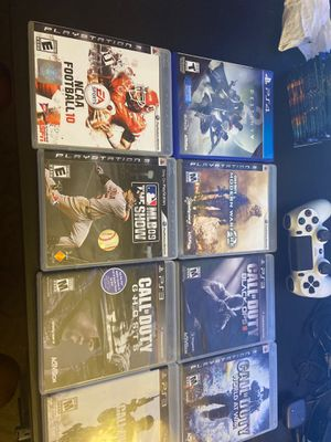 7 PS3 games 1 PS4 game 1 Xbox game 2 Xbox 360, ps4 controllers. for Sale in Las Vegas, NV