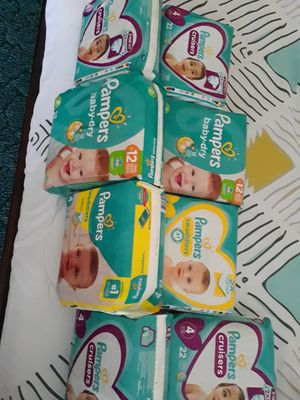 Pampers #4 for Sale in Highlands, TX