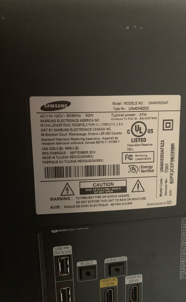 Samsung 47inch (power cycling)