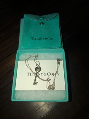 Tiffany & Co. Necklace with diamond. for Sale in Midlothian, TX