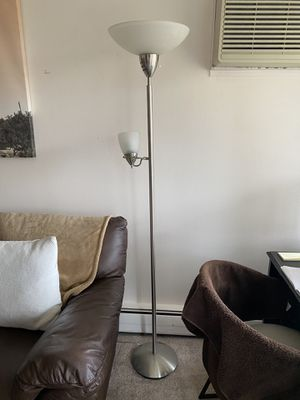Stainless Steel Floor Lamp for Sale in Ann Arbor, MI