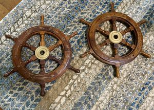 Two Ship Wheels for Sale in Gainesville, GA