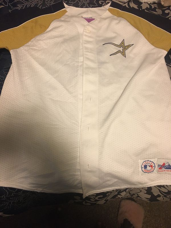 Houston Astros baseball jersey (Bagwell)