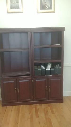Bookshelves and cabinet for Sale in Los Angeles, CA