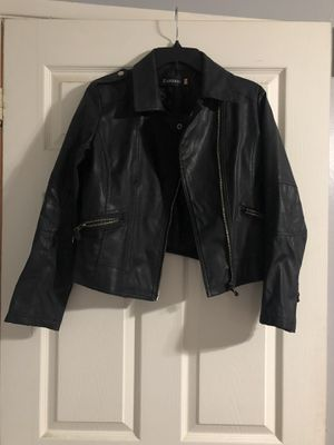 Faux cropped leather jacket for Sale in Riverside, CA