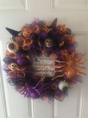 Custom Halloween Wreath for Sale in Minneapolis, MN