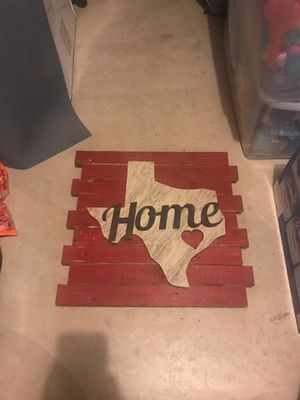 Texas Home Sign/Decoration for Sale in Austin, TX