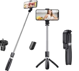 3 in 1 Detachable Tripod Selfie Stick for Sale in Quincy,  MA