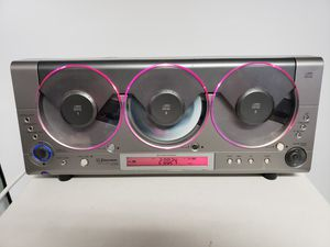 Emerson MS3106 Triple-PLay Linear 3 CD Changer AM FM Radio for Sale in Citrus Springs, FL