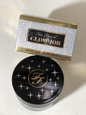 Too Faced Glow Job Jelly Glitter Mask for Sale in National City, CA