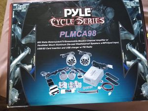 Pyle Motorcycle stereo system for Sale in Grand Rapids, MI