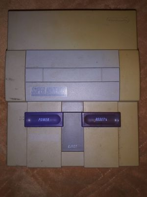 Og Super Nintendo console only for Sale in San Antonio, TX