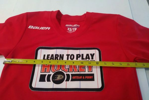 Bauer Getzlaf & Perry Hockey Jersey Y/XS