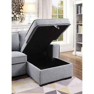 Sectional L Shape Sofa Chaise Storage Bed for Sale in Riverside, CA