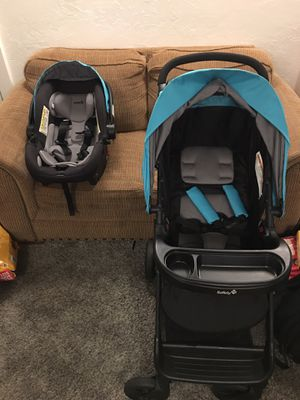 Safety 1st car seat stroller combo for Sale in Saginaw, OR