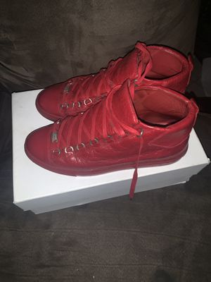 Used Balenciaga Arenas size 43 (10us) 100% Authentic for Sale in Dedham, MA