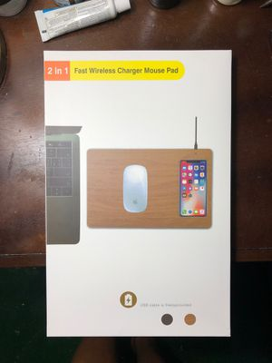 Wireless mouse pad charger for Sale in Toms River, NJ