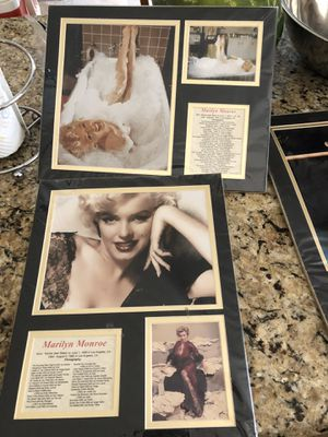 Marilyn Monroe Wall Decor for Sale in Glendale, AZ