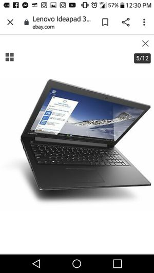 Lenovo 15.6 inch laptop core i3 7th gen for Sale in Yonkers, NY