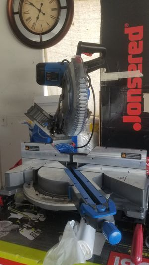 """Delta miter 12""""in sliding double vebel New condition $400 cash for Sale in West Valley City, UT"""