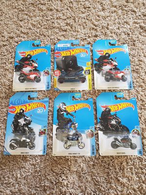 Ducati/BMW/Honda Motorcycle Hot Wheels for Sale for Sale in Buena Park, CA