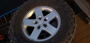 Jeep rims with Nitto Trail Grapplers tires! for Sale in Westminster, CO