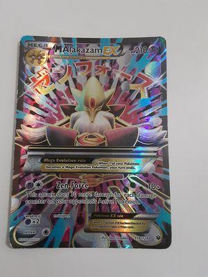 Pokemon- Mega Alakazam- Ex 118/124 XY Fates Collide- Holo for Sale in Rex, GA