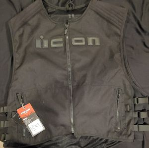 Icon Brigand 4xl-5xl motorcycle vest for Sale in Philadelphia, PA