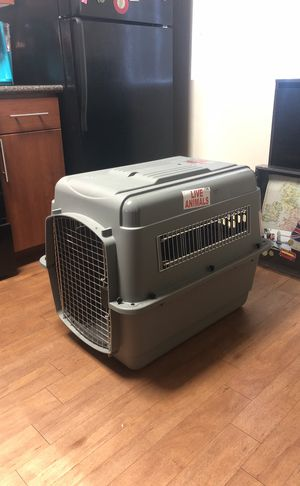 "Dog kennel crate airline approved "" sky kennel ultra"" brand for Sale in San Rafael, CA"
