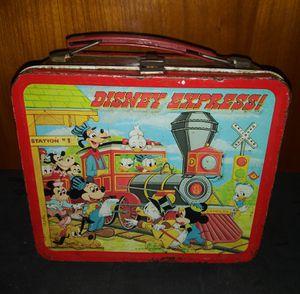 Disney Express Vintage Metal Lunch Box for Sale in Pulaski, TN