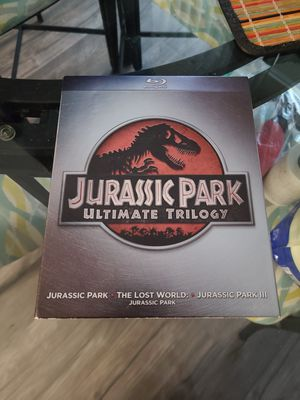 Jurassic Park Trilogy Blu ray for Sale in Lacey, WA