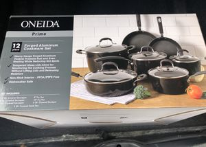 Oneida 12 Piece Forged Aluminum Cookware Set for Sale in Philadelphia, PA
