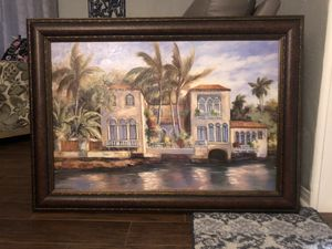 Custom made picture! I had it painted and framed for 300! for Sale in Kenneth City, FL