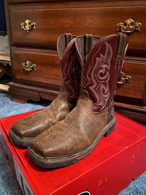 Justin work boots for Sale in Wampum, PA