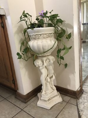 Real plant with stand for Sale in Sterling Heights, MI