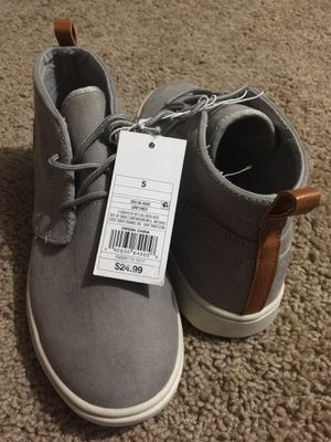 new shoe size 5 for boys for Sale in Springfield, VA