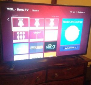 42 inch TCL ROKU TV for Sale in Boston, MA