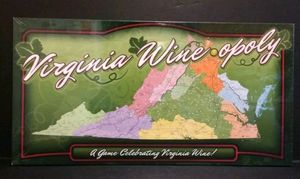 VIRGINIA WINE-OPOLY BOARD GAME (Special Virginia Version). Condition is New. for Sale in Austin, TX
