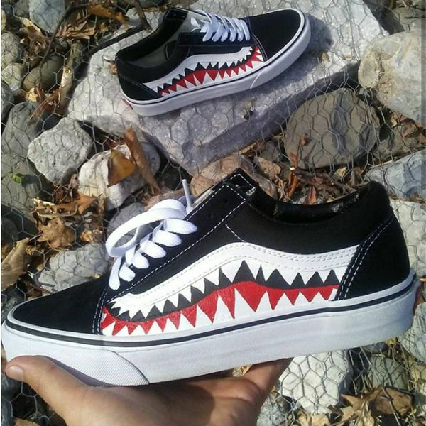 Custom Bape Vans