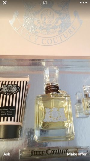 Juicy couture perfume fragrance set 3.4fl for Sale in Scottsdale, AZ